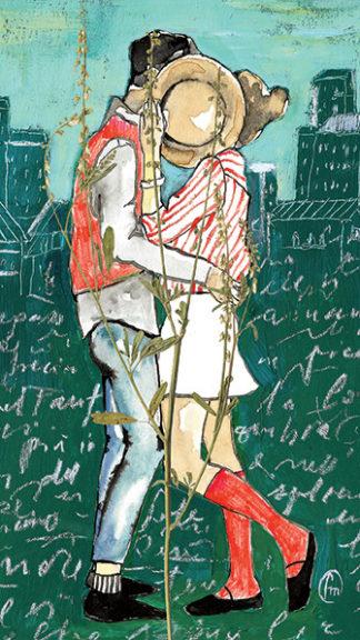 illustrazione hidden kiss francesca mariani peccati veniali