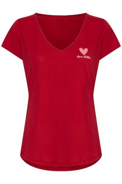 tshirt rossa love letter peccati veniali