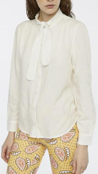 camicia bianca con fiocco peccati veniali