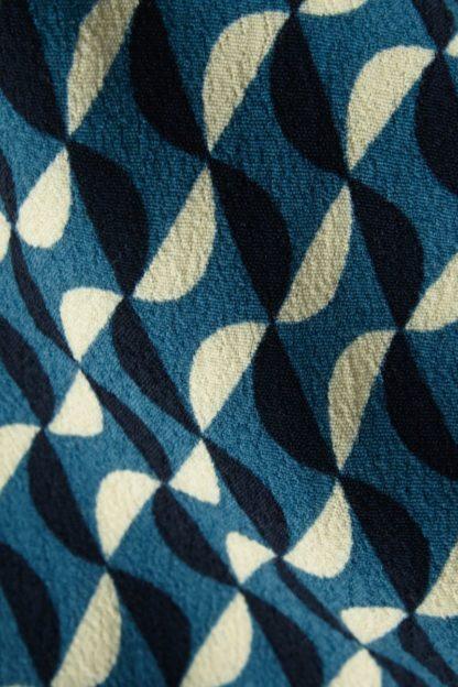 abito tunica biba particolare fantasia geometrica ottanio peccati veniali