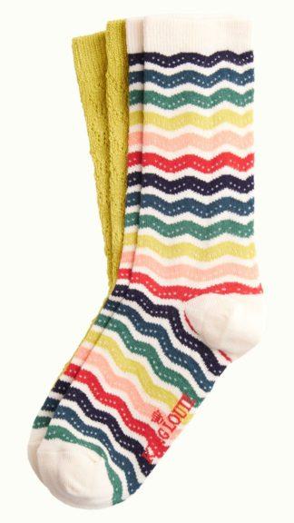 calzini sassy righe multicolor peccati veniali
