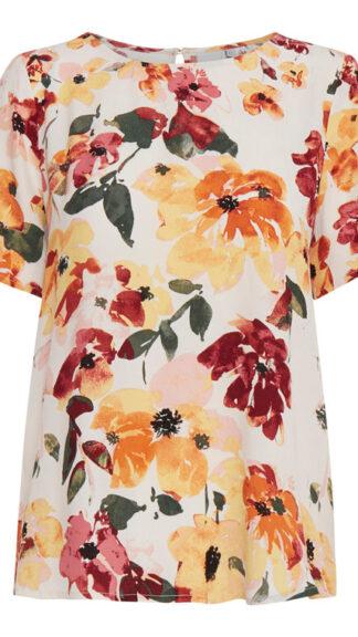 blusa maniche corte floreale brunsa peccati veniali