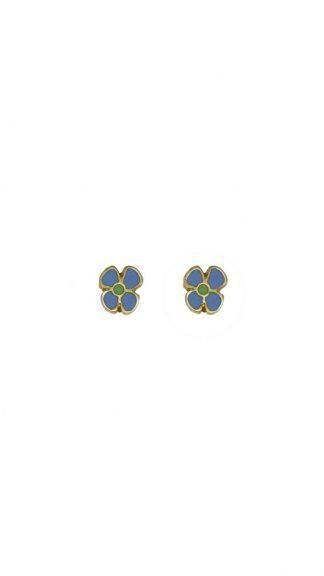 orecchini fiorellini azzurri peccati veniali