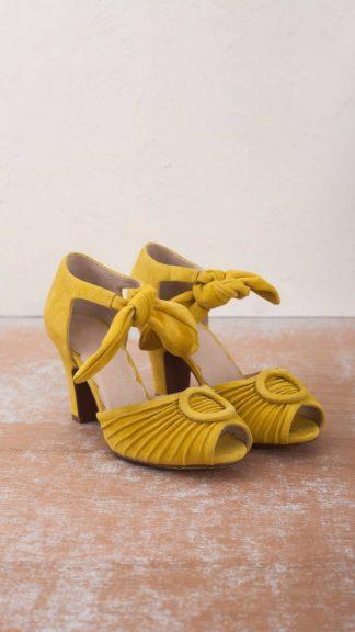 scarpa loretta gialla peccati veniali