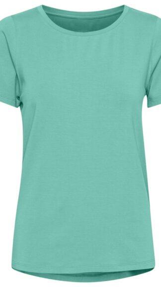 tshirt verde chiaro in lyocell vicenta peccati veniali
