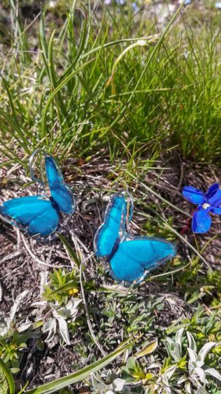 orecchini butterfly blu peccati veniali