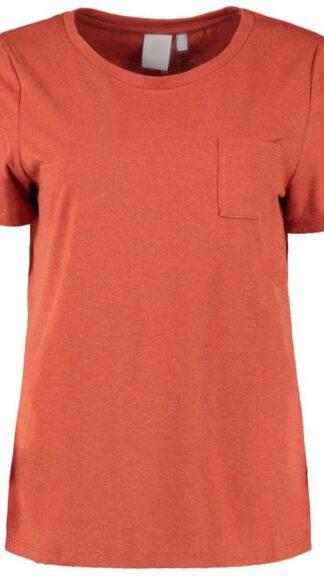 tshirt lurex con taschino arancio peccati veniali