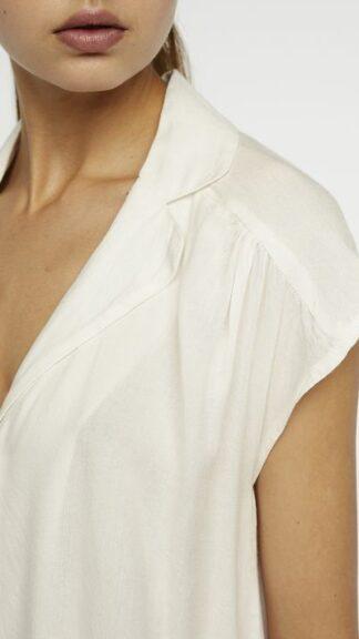 camicetta maniche corte bianca particolare peccati veniali