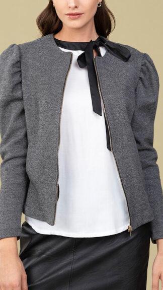 giacca maniche a sbuffo aida peccati veniali
