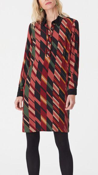 abito con colletto a righe miste peccati veniali