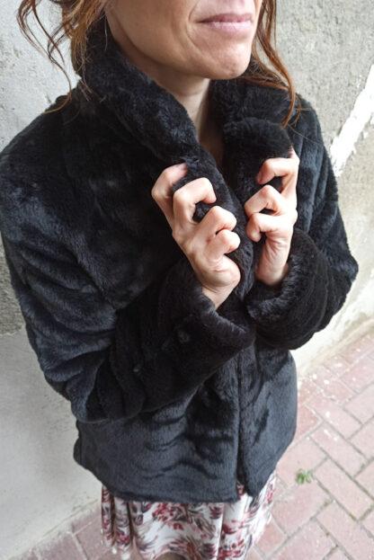 ecopellicciotto nero simpo particolare peccati veniali