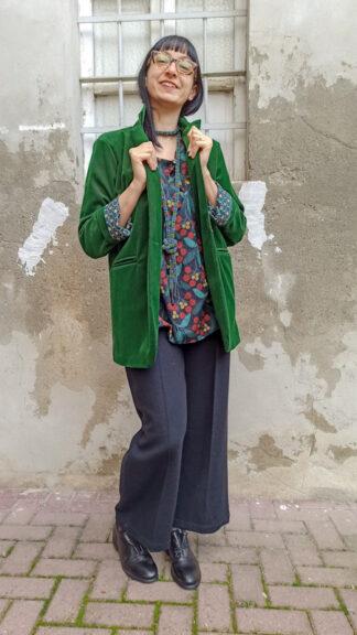 outfit green velvet peccati veniali