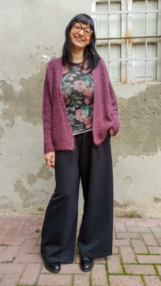 outfit wine and flowers peccati veniali