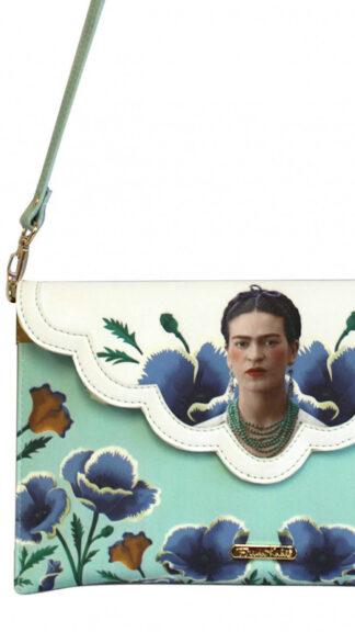 borsa clutch frida kahlo con tracolla particolare peccati veniali